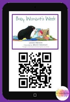 Baby Wombats Week- QR Code Comprehension Pack