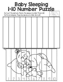 Baby Worksheets - Math & ELA