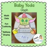 Baby Yoda Family Glyph Craftivity