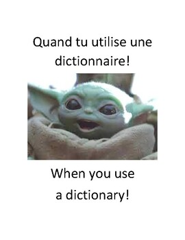 Baby Yoda Memes in French and English!