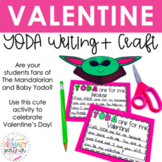Baby Yoda Valentine's Day Activity - YODA One for Me Craft