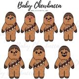 Baby chewbacca clipart || Chewbacca clipart || Starwars clipart ||