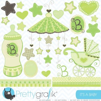 Baby clipart commercial use, vector graphics, digital clip