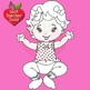 Baby Clipart, Digital Stamps, Baby Girls Outlines, Black line, AMB-831
