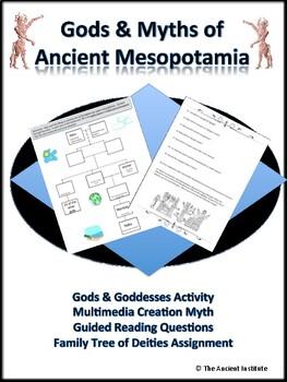 Ancient Mesopotamia Gods & Myths Bundle
