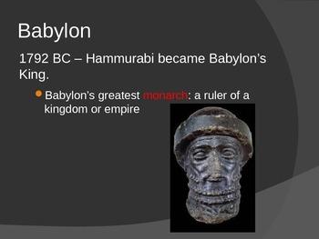 Babylonian Empire and Hammurabi