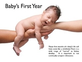 Baby's First Years PowerPoint