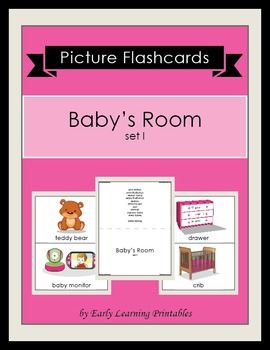 Baby's Room (set I) Picture Flashcards