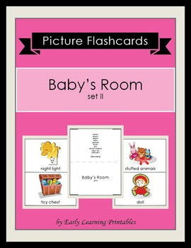 Baby's Room (set II) Picture Flashcards