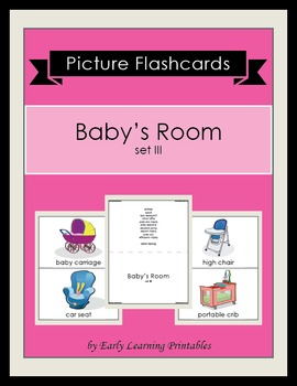 Baby's Room (set III) Picture Flashcards