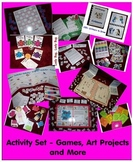 Babysitter Activity Set - Games, Art Recipes, Puzzles, Edu
