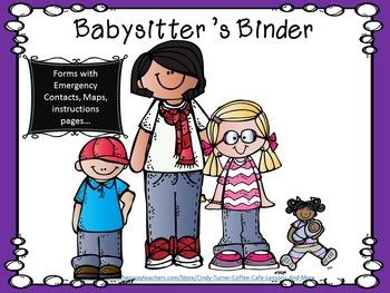 Babysitter's Binder of Forms