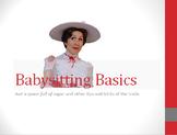 Babysitting Basics PowerPoint