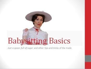Babysitting Basics PowerPoint