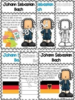 Bach Biographies (Composer of the Month)