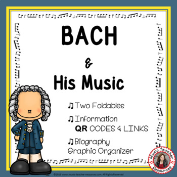Music Listening: Music Composer BACH: Interactive Listening Journal Foldables