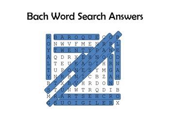 Bach Lesson Plan