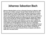 Bach Lesson Plan