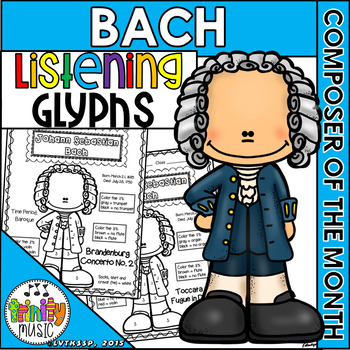 Bach Listening Glyphs (Composer of the Month)