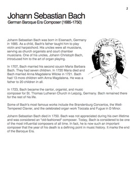 Bach   Meet the Composer Series Piano Book, Vol. 4 (Digital Print)