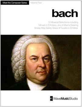 Bach | Meet the Composer Series Piano Book, Vol. 4 (Digita