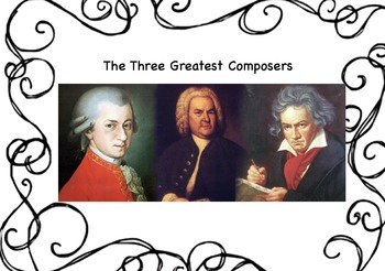 Bach Mozart & Beethoven Biographies