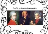 Bach Mozart & Beethoven Biographies