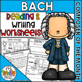 Bach Reading & Writing Activities (Composer of the Month)