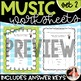 Bach to the Basics 2: MORE Review Sheets for Elementary Mu