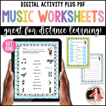Bach to the Basics: Review Sheets for Elementary Music Students