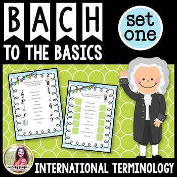 Bach to the Basics {UK Version}: Review Sheets for Elementary Music Students