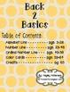 Back 2 Basics: Classroom Decor Set