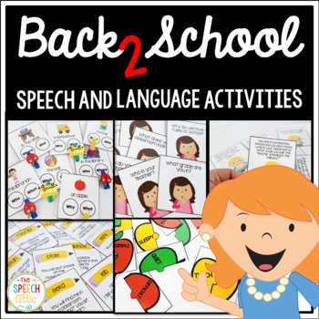 Back 2 School Speech and Language