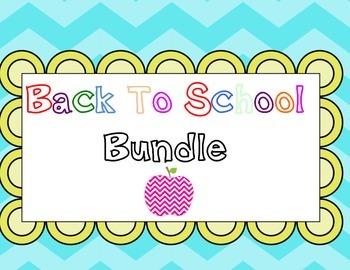 Back 2 School Bundle