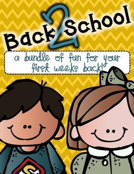 Back 2 School Fun {Mini Bundle}