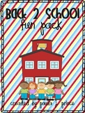Back 2 School Fun Pack