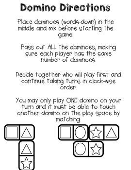 Back 2 School Fun with Dominoes!