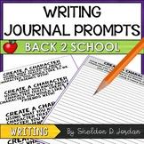 Back 2 School Journal Prompts