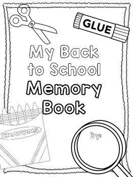 Back 2 School Memory Book