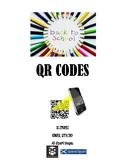 Back 2 School QR Codes Set
