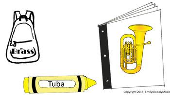 Back-2-School Stack- Orchestral Instruments