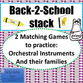 Back-2-School Stack- Orchestral Instruments