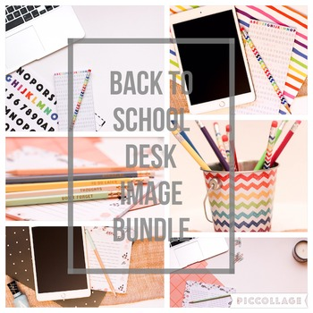 Back 2 School Styled Desk Bundle