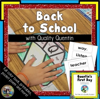First Day of School Activities For Kindergarten and First Grade