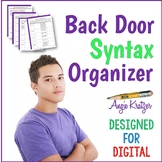 Back Door Syntax Organizer for AP English