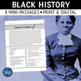 Black History Reading Comprehension Passages