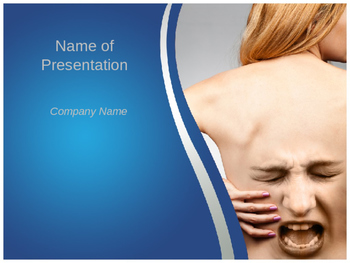 Back Pain PPT Template