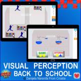 Back TO School Visual Perception School Game Bundle Boom Cards
