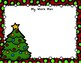 Back To My Seat Station 2 Digit by 1 Digit Multiplication Christmas Theme