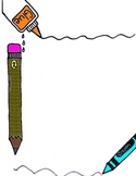 Back To SChool Supplies Stationary